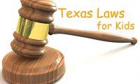 子供に関するテキサスの州法