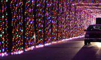 Prairie Lights クリスマスライトアップ、 Grand Prairie