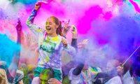 5キロレース、Color Vibe、 3月18日