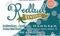Denton Redbud Festival、4月22日(土)