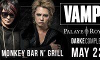 VAMPSのダラスコンサート、 5月22日(月)