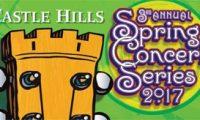 スプリングコンサート、5月13日&6月10日、Castle Hills