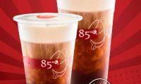 月曜日のみのアイスコーヒースペシャル、85°C Bakery Cafe