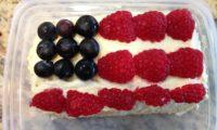 アメリカ独立記念のお祝いに、簡単に作れるケーキ