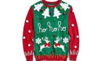 アラスカ航空、クリスマスの柄のセーターを着ているお客さんは早く搭乗されてくれる