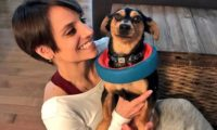 韓国の犬肉農場から一匹の犬をレスキューしたビーガンのオリンピック選手