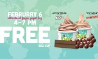 フローズンヨーグルトデー 2月6日、本日3時間のみ無料でキットカット味のフローズンヨーグルトがもらえる!!